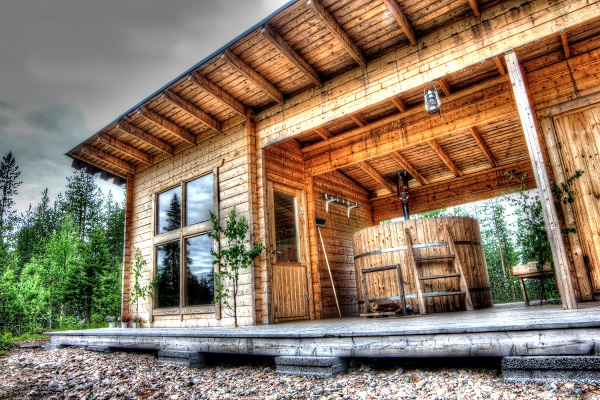 Exteriérové sauny